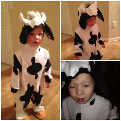 7 best 1 cow costume images on pinterest cow costumes cow halloween diy cow costume solutioingenieria Images
