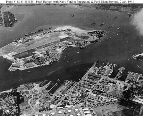 PEARL-HARBOR-RAID-12-4X6-PHOTOS-DEC-7-1941-PACK-3-WW2-WWII