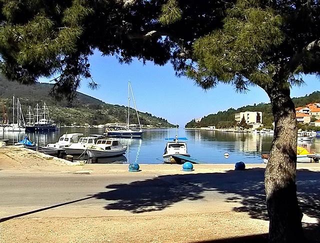 Vela Luka, island of Korcula, Croatia