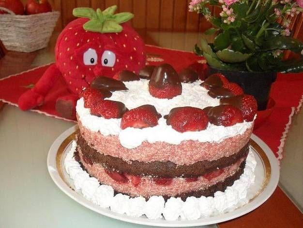 Túró-joghurt torta