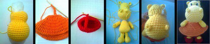 LORAINE AMIGURUMIS - Muñecos tejidos al crochet (ganchillo)