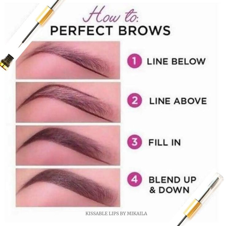 Brows frame your face and are a must do! 🔲 This is a great ...