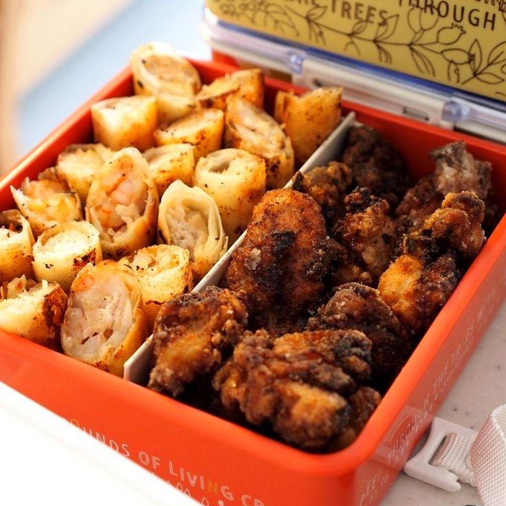 168's dish photo 運動会のお弁当は唐揚げだねー | http://snapdish.co #SnapDish #レシピ