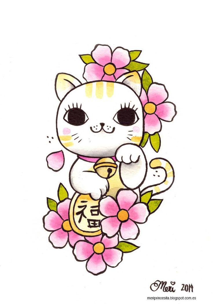 la princesita tatuada: Maneki Neko princesitastyle
