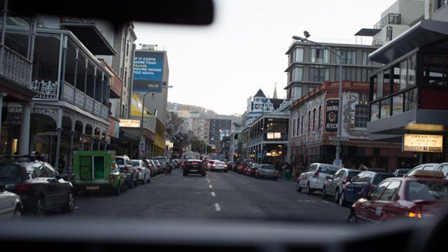 Downtown Cape Town.