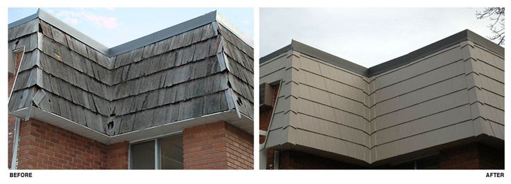 Metal Mansard Roof