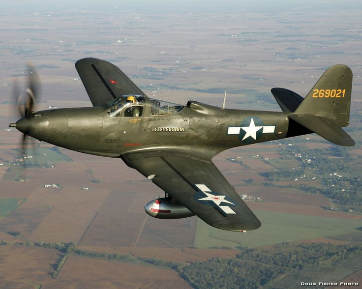 Bell P-63 Kingcobra (Model 24) was a United States fighter aircraft developed by Bell in World War II from the Bell P-39 Airacobra in an attempt to correct that aircraft's deficiencies. Although the aircraft was not accepted for combat use by the United States Army Air Forces, it was successfully adopted by the Soviet Air Force.