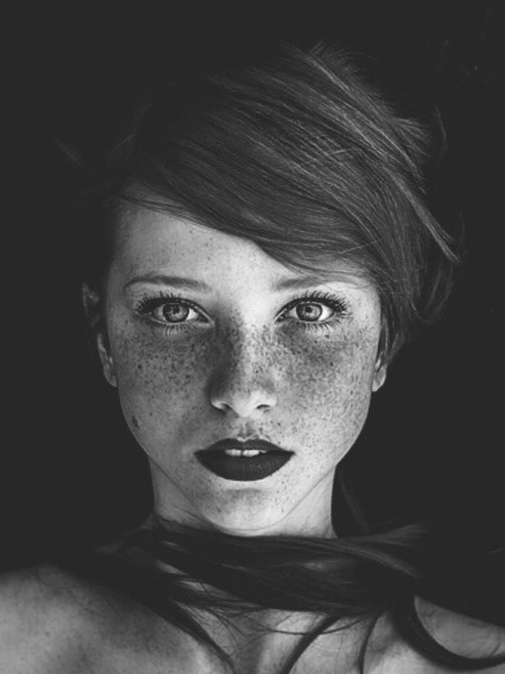 ~ some freckle faces can wear dark lipstick and not look like they got punched in the mouth...