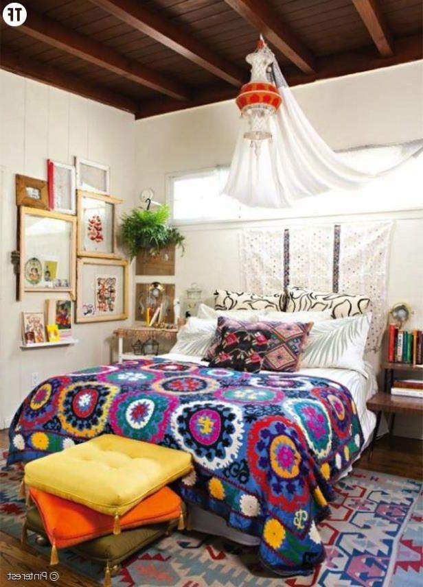Chambre Hippie sur Pinterest  Salle Hippie, Chambres et Tentures