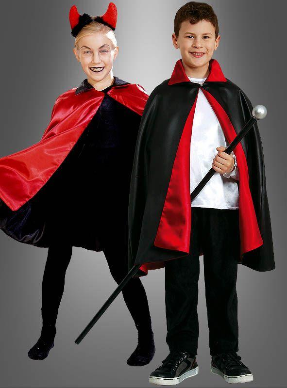 Vampir Umhang für Kinder bei » Kostümpalast.de