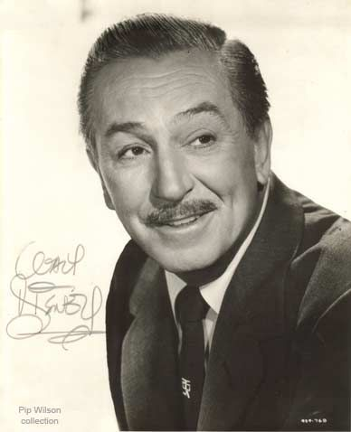 Walt Disney > visionary. This guy could have lived to be 200 years old and would still have been an earth shaker and ground breaker. He was always in search of the next big thing (and usually found it.)