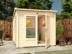 16 best images about garden office flat pack on for Flat pack garden room