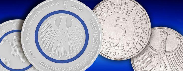 Der Heiermann – BRD 5 Euro, BRD 5 DM… Von neuen und alten Heiermännern