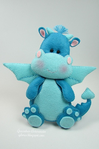 dinosaurio azul