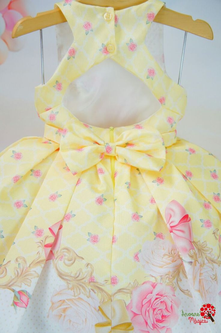Vestido Infantil de Festa Petit Cherie na Árvore Mágica