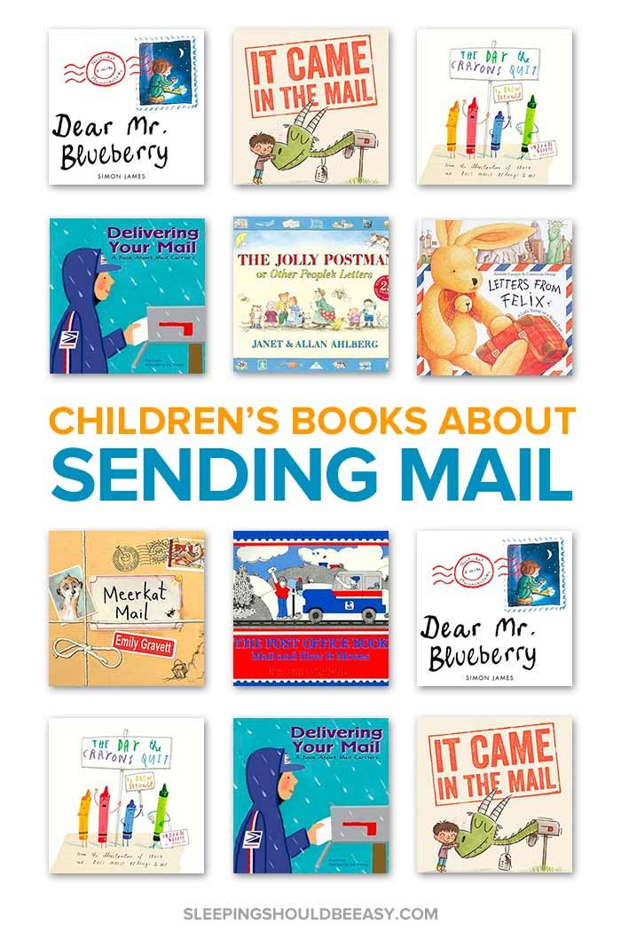The Best Children S Books About Sending Mail Letter Writing Activities Childrens Books Sending Mail