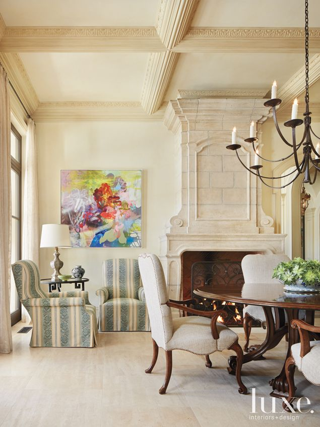 Here A French Neoclassical Style Residence In Dallas