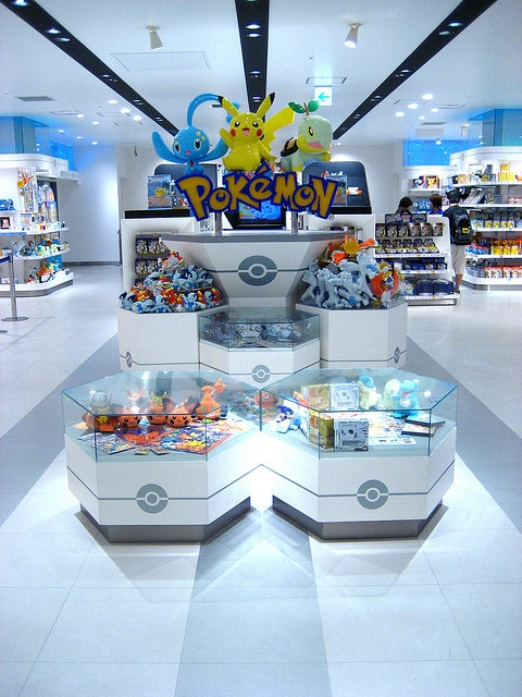 pokemon store • yokohama by creativeholly, via Flickr