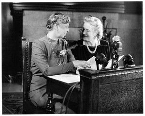 Eleanor Roosevelt and Clementine Churchill