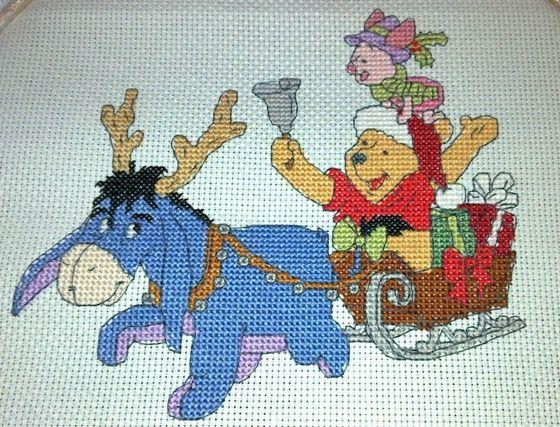Winnie the Pooh Eeyore & Friends The World of Cross Stitching Issue 170 Hardcopy