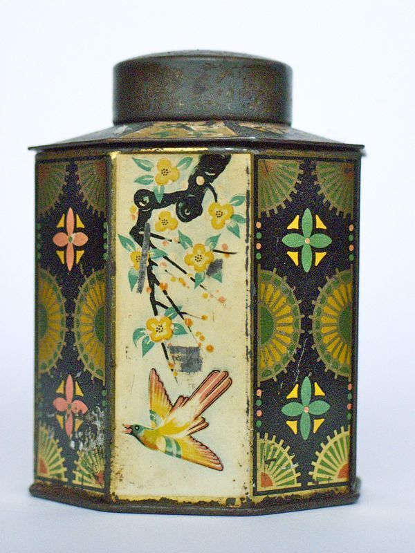 Antique tea caddy from China.