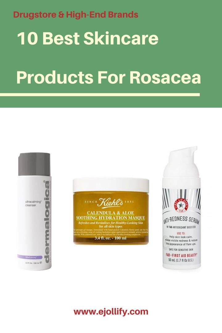 Best Skincare Products For Rosacea Skincare Routine For Rosacea In 2020 Skin Care Rosacea Best Skincare Products
