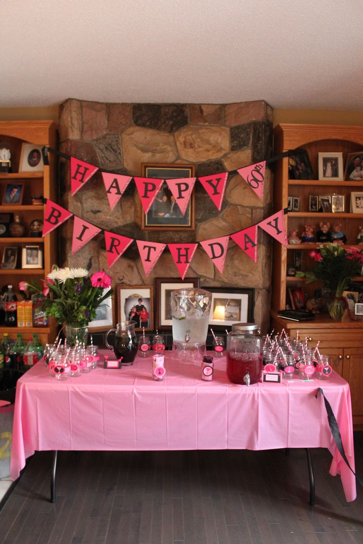 60th Birthday Decoration Ideas Of 60th Birthday Party Adult Birthday Party Ideas