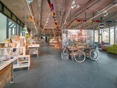 SUPER concept space im Bikini Haus Berlin / our client: DLW Flooring GmbH