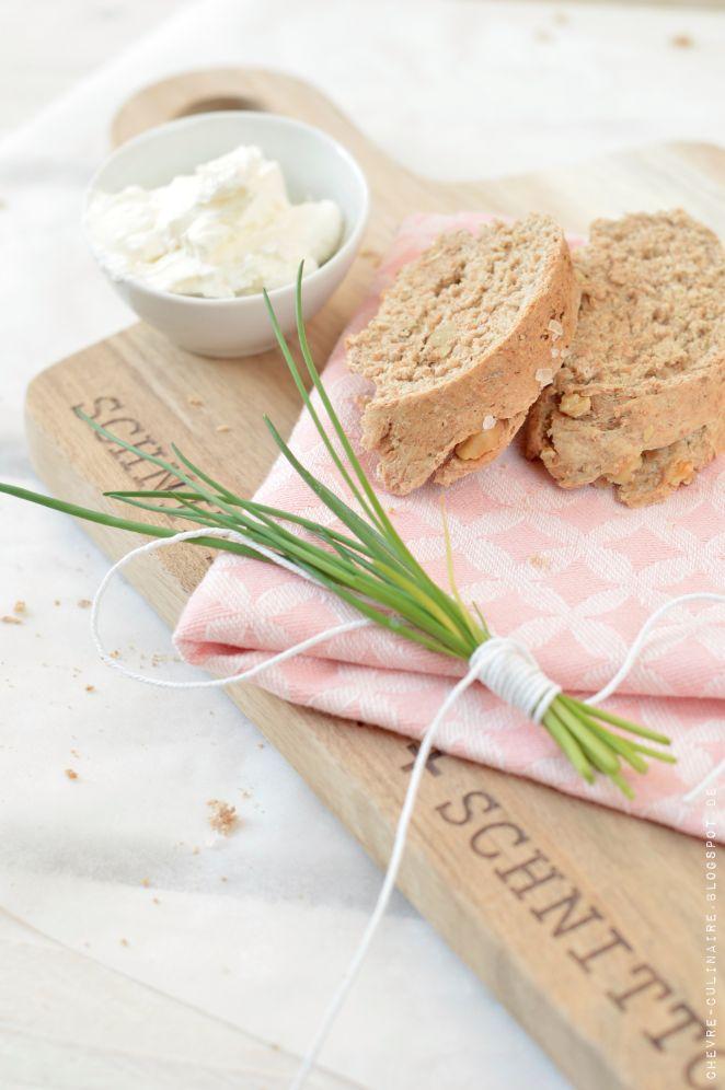 Chèvre Culinaire: Walnut Baguette // Walnuss Baguette