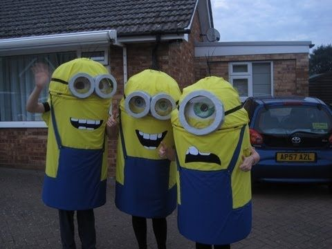 Instructable DIY: How to make a Minion costume (Halloween fancy dress idea)! (From Despicable Me) OH YEA!!!