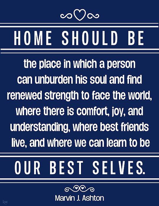 Marvin J. Ashton - October 1992 LDS General Conference #lds #ldsconf #quotes