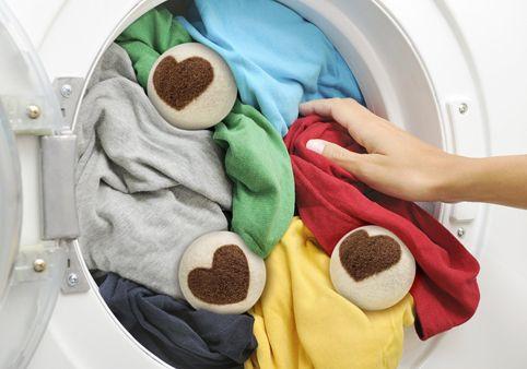 Bolas de secado 100 na orgánica natural. Ahorro energético y de suavizantes químicos