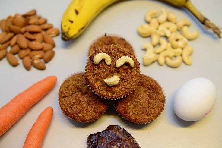 Madgudinden: Gulerodskage-/bananmuffins