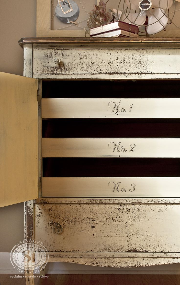 Furniture painting ideas techniques - Find This Pin And More On Chippy Painted Furniture