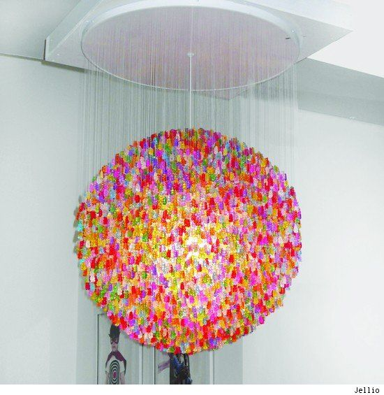 Kims Kandy Kreations: Candy Chandeliers
