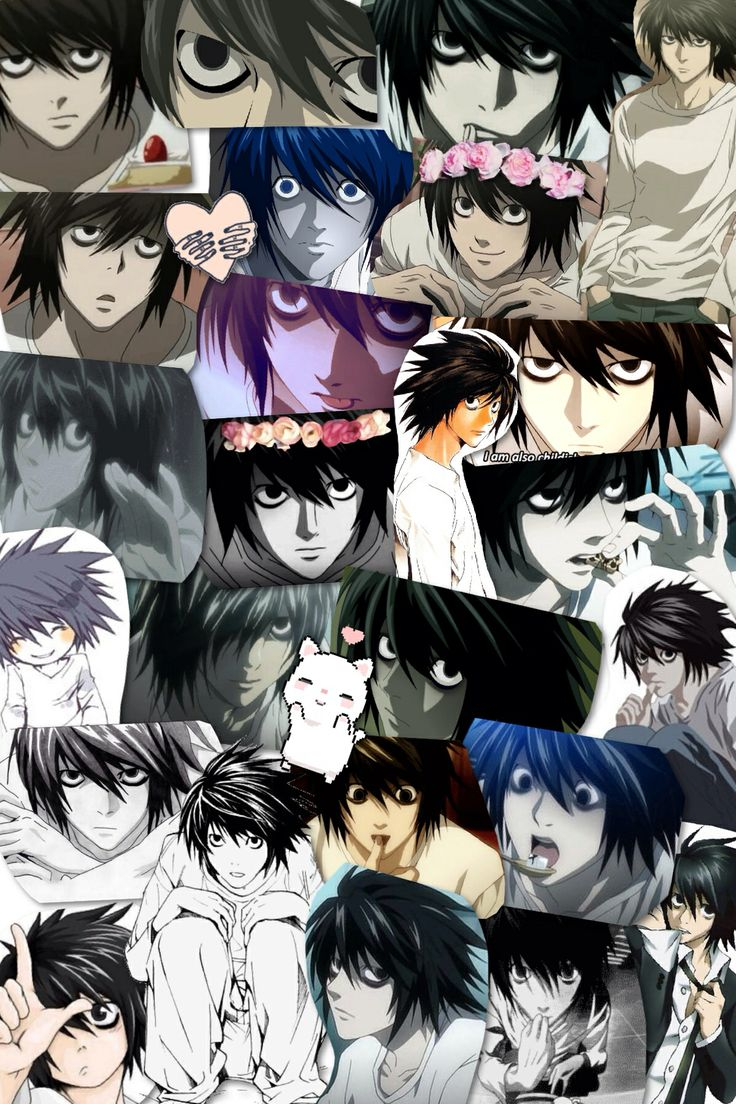 L from deathnote 3 death note Pinterest The o'jays