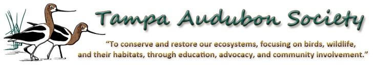 Tampa Audubon Society Banner