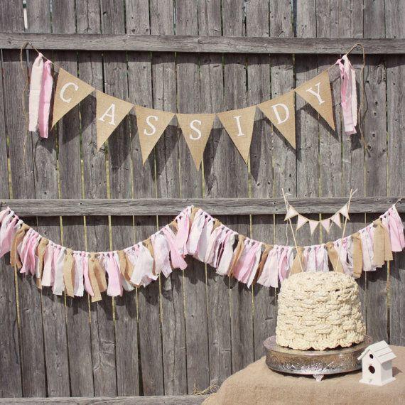 Shabby Chic Baby Shower Bridal Shower Birthday