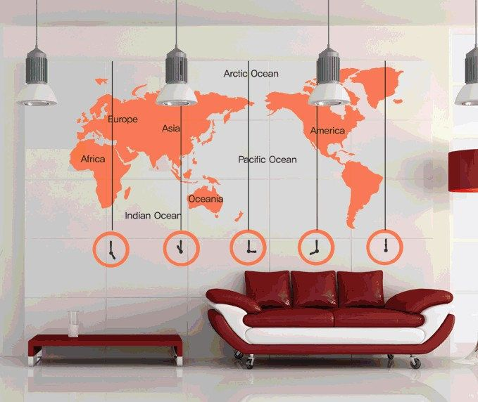 cheap office wall art. perfect office cheap sticker remover buy quality clock wall directly from china  suppliers world map clock wall stickers removable diy decal living  on office art