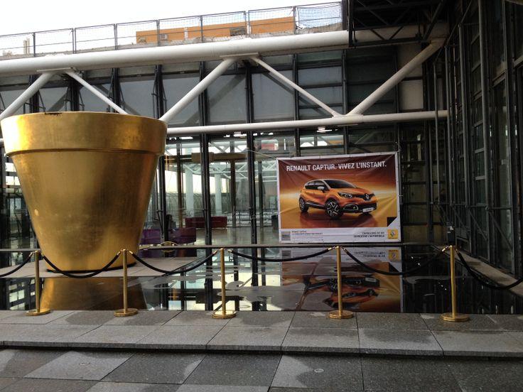 Exposition privatisée Henri Cartier-Bresson au Centre Pompidou ! #CapturCall #Paris #Beaubourg #architecture #art
