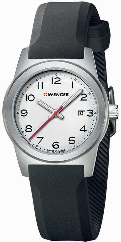 Wenger Watch Field Colour #bezel-fixed #bracelet-strap-rubber #brand-wenger #case-depth-8mm #case-material-steel #case-width-31mm #classic #date-yes #delivery-timescale-4-7-days #dial-colour-silver #gender-ladies #movement-quartz-battery #new-product-yes #official-stockist-for-wenger-watches #packaging-wenger-watch-packaging #style-dress #subcat-field #supplier-model-no-01-0411-133 #warranty-wenger-official-3-year-guarantee #water-resistant-100m