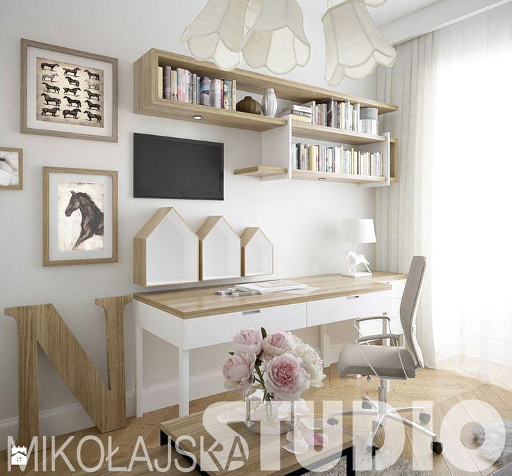 pokój dla nastolatki - zdjęcie od MIKOŁAJSKAstudio