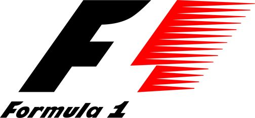Formual 1 logo. Love the use of negative space!