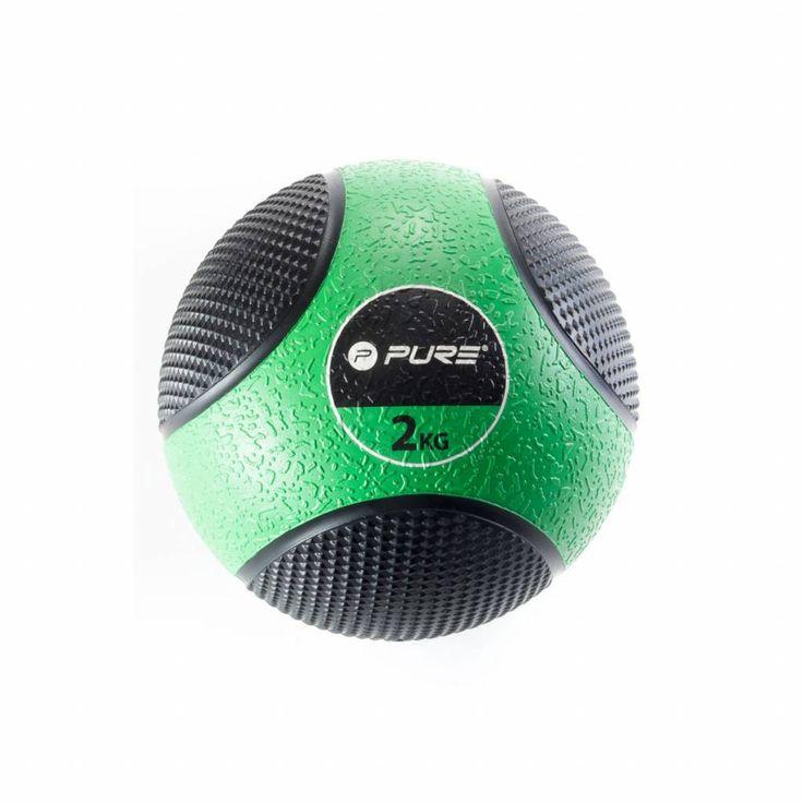 Een grote, zware, stevige bal waarmee je kunt gooien en kunt opvangen als oefening. Een grote variatie van training is mogelijk met de ballen.