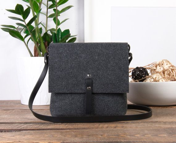 Crossbody bag, black leather crossbody purse. It has a lot of space and one pocket for your phone. Adjustable shoulder strap is made from hand cuted cowhide leather. BAG DIMENSIONS : ● Width: 9 inches (23 cm) ● Height: 9 inches (23 cm) ● Depth: 2.8 inches (7 cm)  BAG INTERIOR: large space for sundries, 1 mobile phone pocket  STRAP DIMENSIONS: ● Width: about 0.6 inch / 1.6 cm ● Adjustable length up to 55 inch / 140cm  AVAILABLE LEATHER COLORS: ● Basic colors which are both sides dyed in…