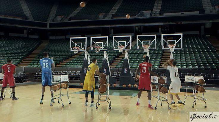 NBA Oyuncuları Üçlüklerle Yılbaşı Şarkısını Çalıyor