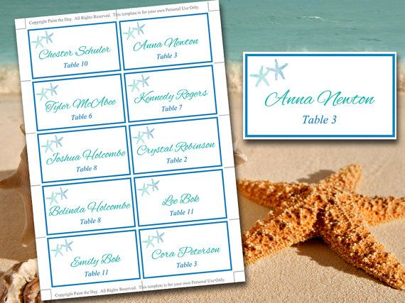 The 25+ best Place card template word ideas on Pinterest Free - card word template