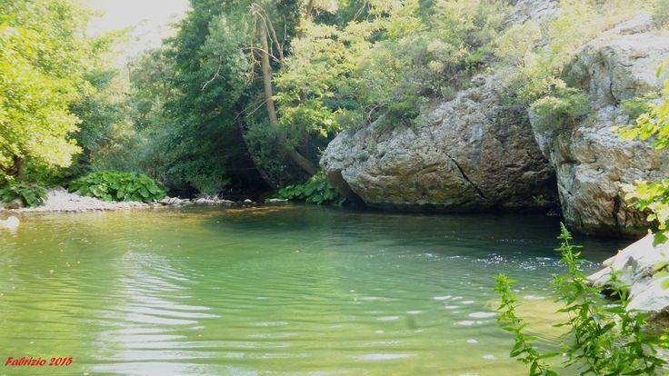 fiume di Sassinoro posto stupendo