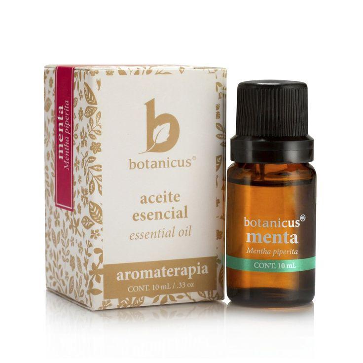 Aceite Esencial - Menta  Excelente contra la fatiga mental y la depresión, refresca el espíritu y mejora la concentración.  Usos terapéuticos: Analgésico, anestésico, antiséptico, astringente, descongestionante y estimulante.