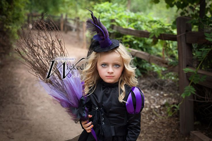 Witch Costume for GIRLS Halloween Wicked Witch por wickedandwonder